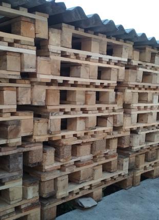 Поддоны деревянные, палеты