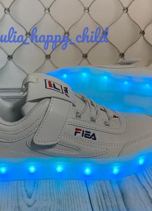 Led кроссовки светящиеся