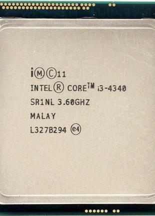 Intel i3 Core 4330/4360 до s.1150 Процесор Haswell