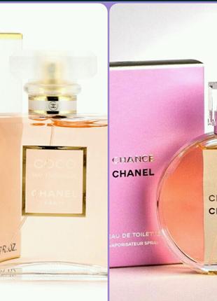 "Духи Женские ""Coco Mademoiselle"" и ""Chanel Chance"" 100 мл."