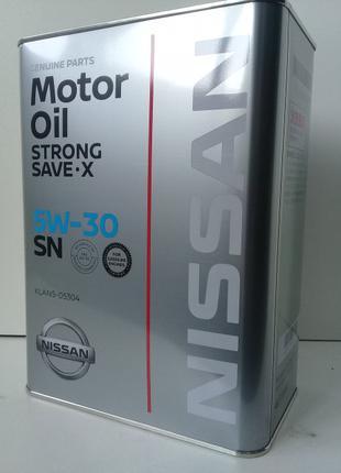 KLAN5-05304 (KE900-99943) KE90099943 масло моторное Nissan FS 5W3