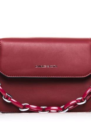 Женская сумочка-клатч из искусственной кожи
