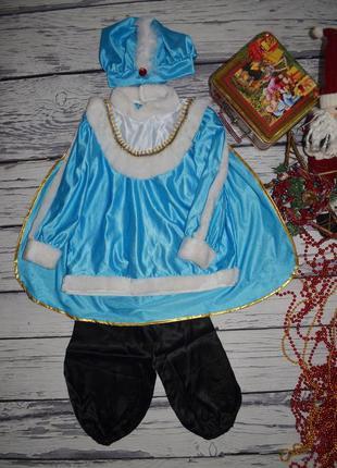 3 - 5 лет фирменный новогодний карнавальный костюм принца принц