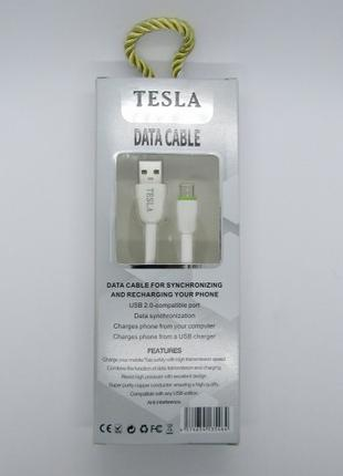 Data Cable Tesla iPhone 5 6  (white)