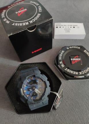 Мужские наручные часы Casio G-Shock GA-110RG новые с бирками
