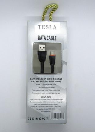 Data Cable Tesla iPhone 5 5s 6 (black)