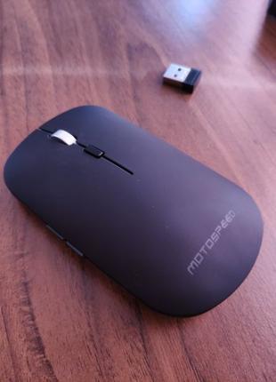 Беспроводная Компьютерная Bluetooth мышь Motospeed Bg60