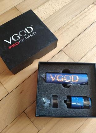Мех мод VGOD Pro Mech/RDTA Электронная сигарета вейп