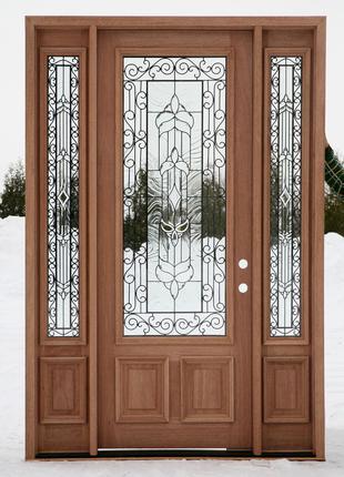 Двері Вхідні з Склом/Вікном