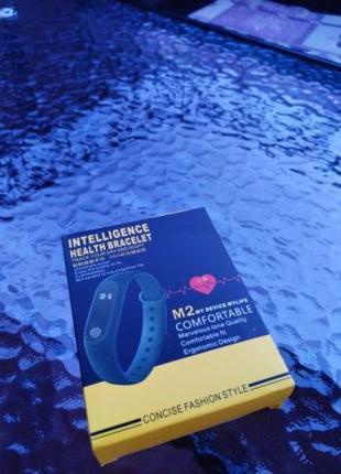Браслет фитнес M2 Smart Bracelet шаги калории уведомления