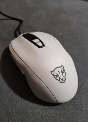 Подарочная мышка Motospeed V60 RGB White Геймерская