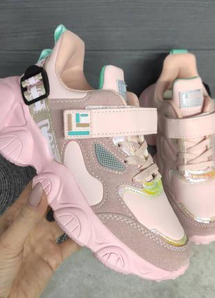 Стильные кроссовки для девочки, кросівки для дівчинки, кроссов...