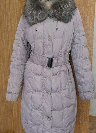 Пуховик пальто женский