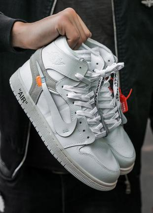 "Мужские кроссовки ""nike air jordan retro 1 x off white"""