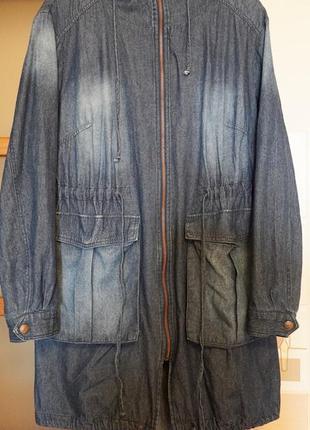 Ветровка -bpc- женская джинсовая на 54-56 размера отличного ка...