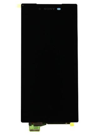 Дисплейный модуль (экран) для Sony Xperia Z5, черный