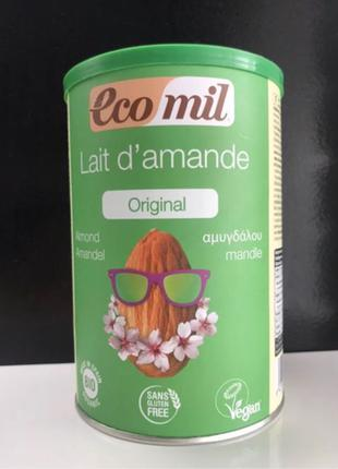 Сухое миндальное молоко ECOMIL без глютена и лактозы
