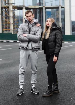 Куртка мужская зимняя PUNCH - Puff, Grey