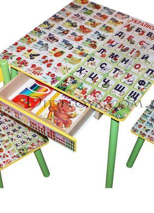 Детский стол и стул Азбука ( варианты) 100 картинок