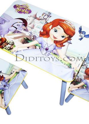 Детский столик Принцесса София ( варианты) Производитель