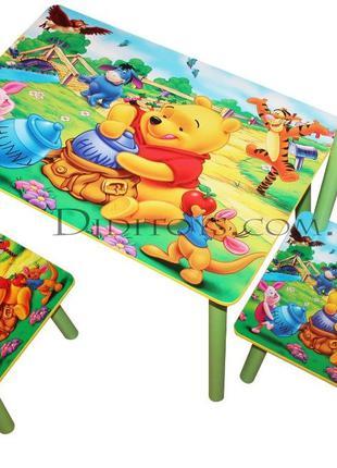 Детский стол со стульями Полянка. От производителя. Оригинал