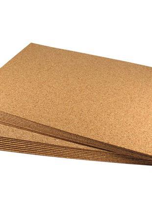 Підкладка коркова листова нешліфований дрібно-зерниста
