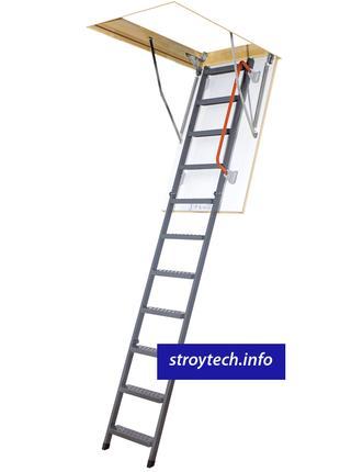 Лестница чердачная металлическая FAKRO LMK Komfort