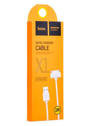 Data Cable Hoco X1 Original iPhone 4/4s 1Метр