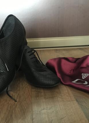 Тренировочные туфли для бальных танцев DSI London