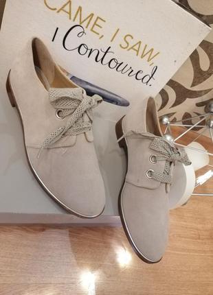 Туфли женские  замшевые franko sarto
