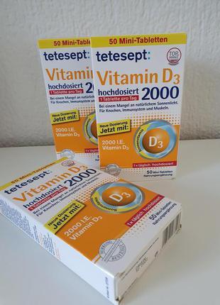 Витамин D3 Tetesept , Германия,