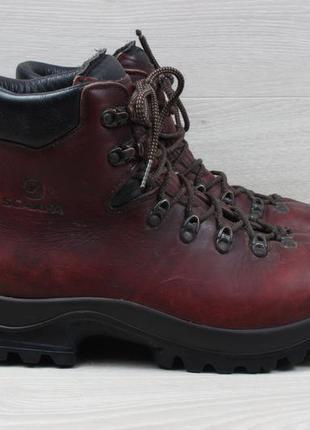 Зимние мужские кожаные ботинки scarpa, размер 43 - 44 (треккин...