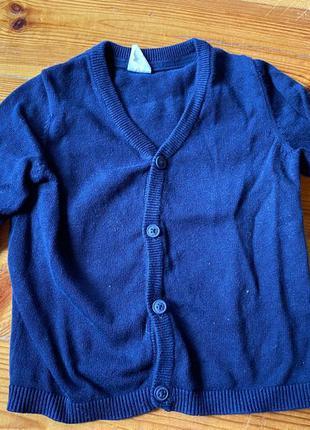 Кардиган для мальчика кофточка пуловер h&m