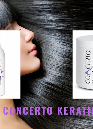 Восстанавливающий комплекс для волос шампунь + маска с кератином,