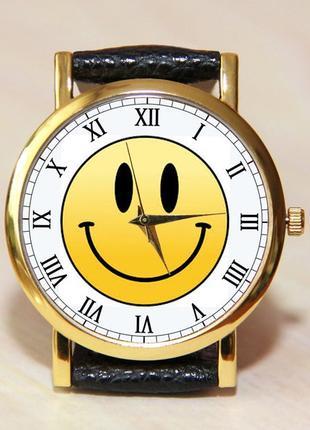 Часы смайл, часы улыбка, женские часы, детские часы