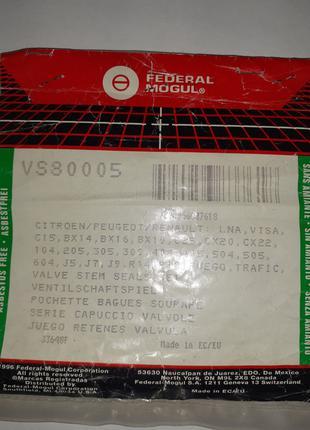 VS80005 (EL195952, EL553190, EL294110, EL038690)сальники клапанов