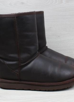 Женские кожаные зимние сапоги с мехом ugg оригинал, размер 39 ...