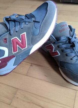Кроссовки New Balance 999 Grey Red 43