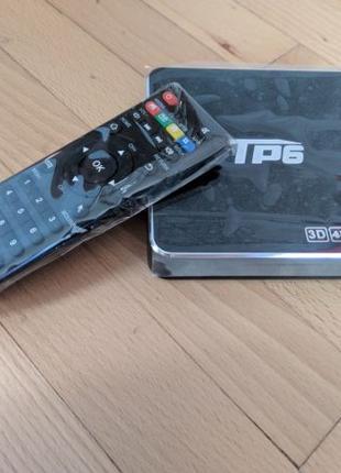 Тв приставка TP6 4K 3/32GB 4K UHD Amlogic S905X