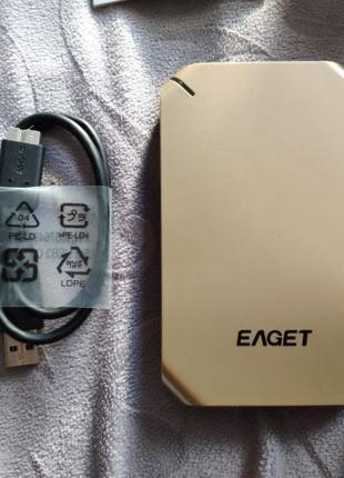 Жесткий диск Eaget G60 500 Gb внешний USB 3.0