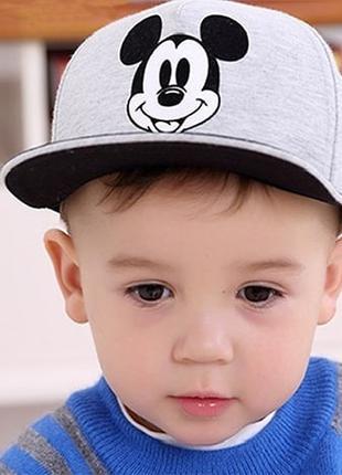 Детская кепка  Микки Маус