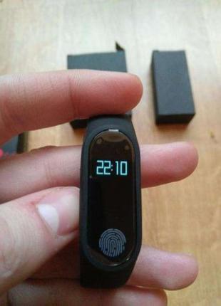 Фитнес браслет M2 с пульсометром ишагомером