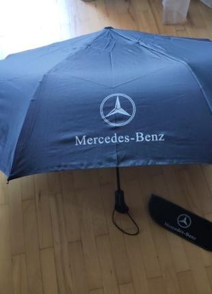 Складной зонт с эмблемой Mercedes Benz AMG автомат