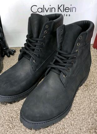 Timberland 6-Inch Premium Waterproof Black Boot