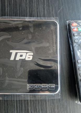 TV Box TP6 3/32GB Smart TV Android приставка