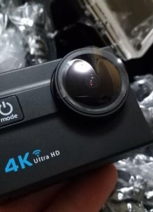 Action camera 4K Ultra HD Wi-Fi Полный комплект с сумкой
