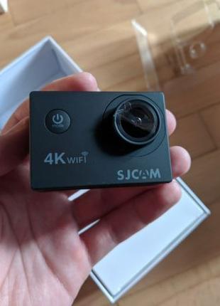 Экшн-камера SJCAM SJ4000 Air Черная Полный комплект 4К 1080p