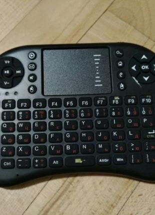 Мини клавиатура Rii Mini i8 с тачпадом для TV BOX