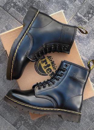 Dr. martens 1460 black мужские кожаные ботинки черного цвета 😍...