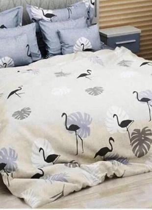 Комплект постельного белья, андийский фламинго